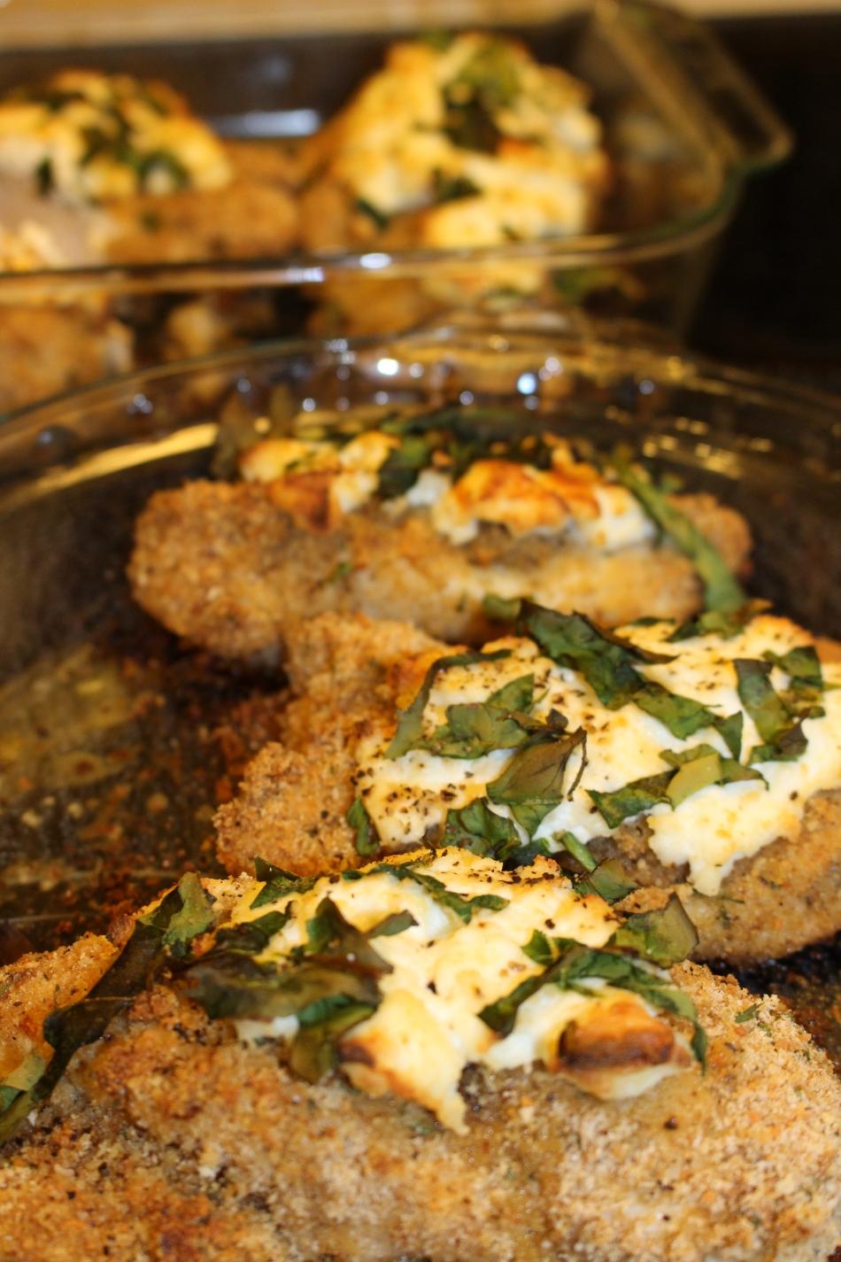 Baked Ricotta Chicken (Gluten-Free, Paleo)